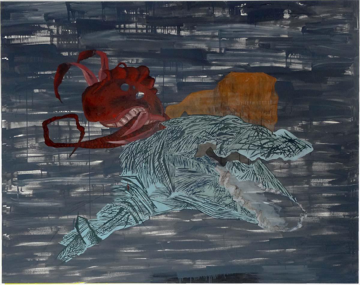 oil on canvas, 100 x 140 cm.